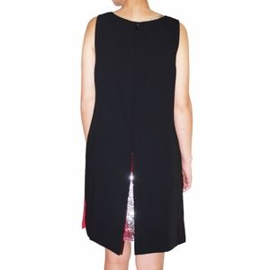 Tommy Hilfiger Peek-a-Boo Sleeveless Sequin Dress